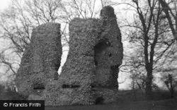 Ludgershall, Castle 1953