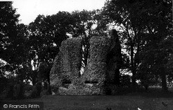 Ludgershall, The Castle c.1955