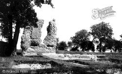 Ludgershall, The Castle c.1965