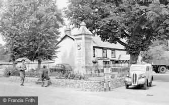 Ludgershall, the War Memorial c1950
