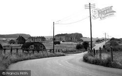 Ludgershall, Windmill Hill c.1955