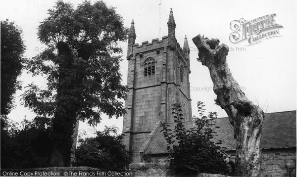 Ludgvan, the Parish Church c1960