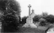 Ludgvan, the Memorial c1960