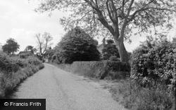 A Pretty Lane 1957, Ludham
