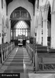 Church Interior 1958, Ludham