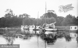 Evening On Womack Water c.1930, Ludham