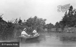 Fishing On Womack Water 1930, Ludham