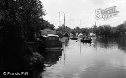Ludham Bridge 1957, Ludham