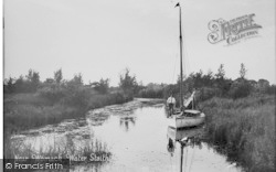 Near Womack Water Staithe c.1930, Ludham