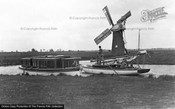 Ludham,Windmill c1955,Norfolk