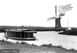 Ludham, River Ant And Windmill c.1931