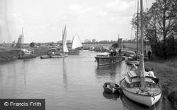 River Ant At Ludham Bridge 1957, Ludham