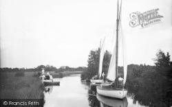River Ant, Quanting c.1930, Ludham