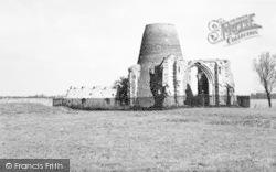 St Benedict's Abbey c.1957, Ludham
