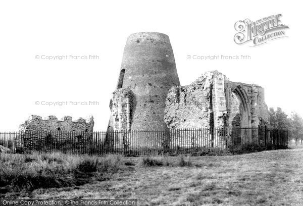 The Broads,St Benet's Abbey 1934,Norfolk
