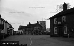 St Catherine's Church And The Post Office 1958, Ludham