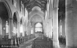 St Catherine's Church, The Chancel c.1930, Ludham
