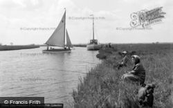 Ludham, The Broads 1957