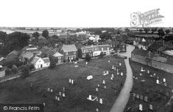 Ludham, The View From The Church Tower 1929