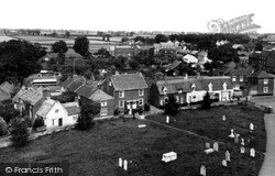 Ludham, Village From Church Tower 1929