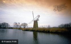 Windmill On River Ant, Turf Fen c.1990, Ludham