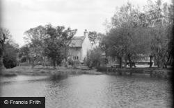 Womack Water, Entrance c.1931, Ludham