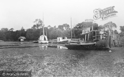 Womack Water, The Staithe c.1930, Ludham