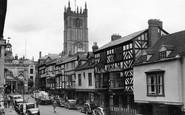 Ludlow, Broad Street 1949