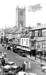 Broad Street c.1960, Ludlow
