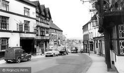 Bull Ring c.1965, Ludlow