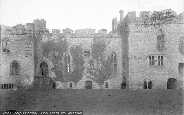 Photo of Ludlow, Castle, Council Chamber 1892