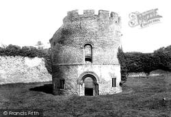 Castle, Norman Chapel 1911, Ludlow