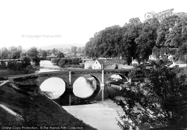 Photo of Ludlow, Dinham Bridge 1892