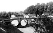 Ludlow, Dinham Bridge 1892