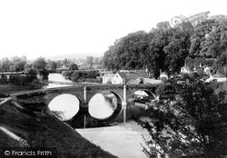 Dinham Bridge 1892, Ludlow