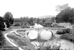 Dinham Bridge 1896, Ludlow