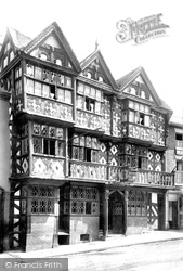Feathers Hotel 1904, Ludlow