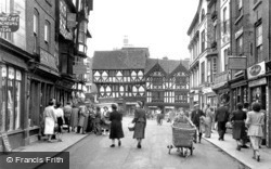 High Street c.1950, Ludlow