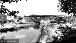 Ludlow, River And Clee Hill c.1960