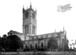 Ludlow, St Laurence's Parish Church 1949