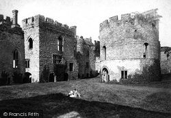 Ludlow, The Castle And The Round Chapel 1892