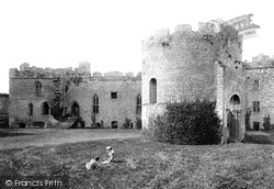 Ludlow, The Castle, Round Chapel 1892