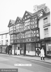 Ludlow, The Feathers c.1965