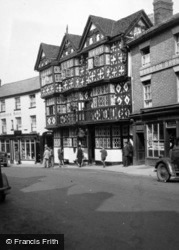 Ludlow, The Feathers Hotel 1948
