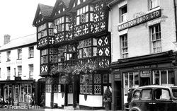 Ludlow, The Feathers Hotel c.1950