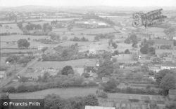 Ludlow, View From Ludlow Parish Church 1949