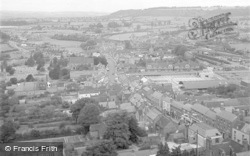 Ludlow, View From Parish Church Tower 1949