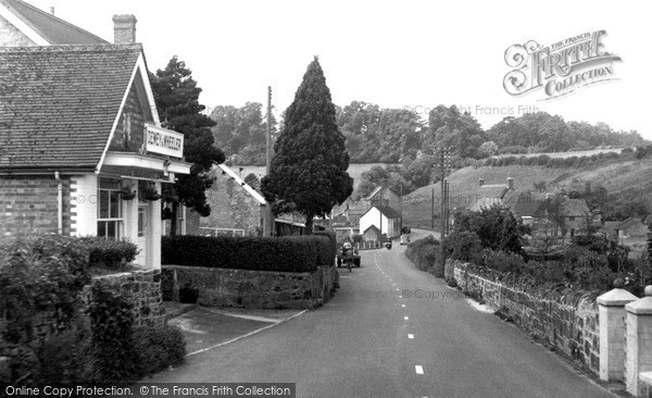 Photo of Ludwell, The Village c.1955