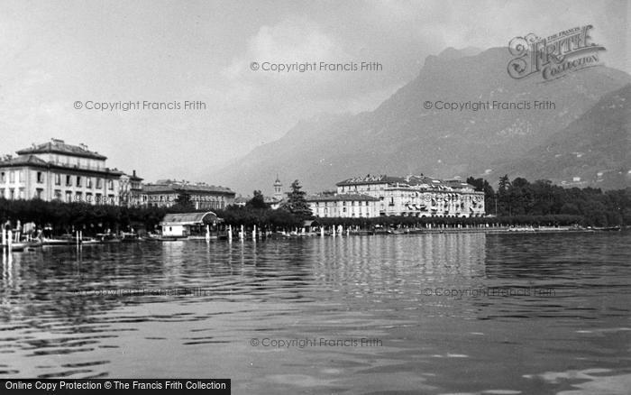 Photo of Lugano, From The Lake c.1938