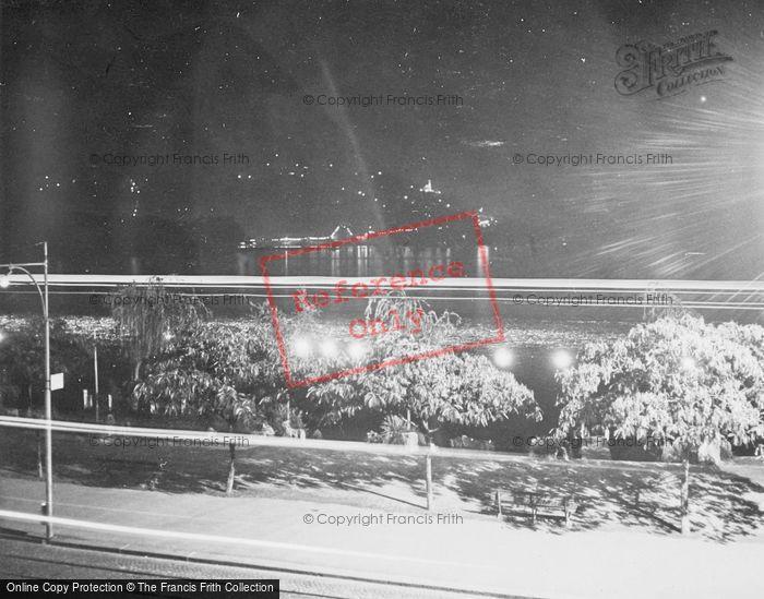 Photo of Lugano, Lake At Night c.1938